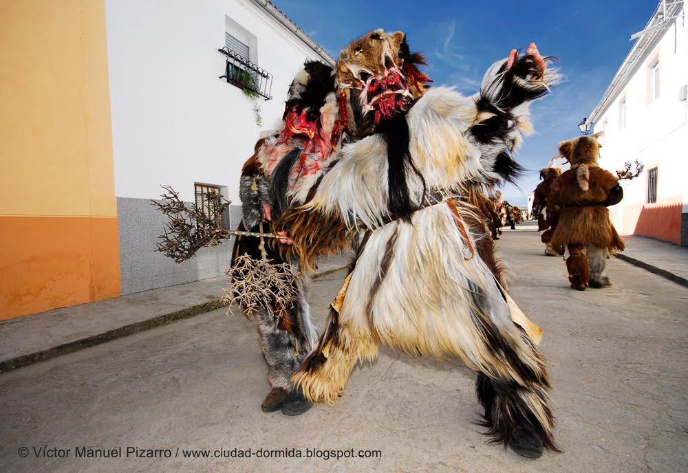 Carantoñas de Acehúche (Cáceres, Extremadura, España)