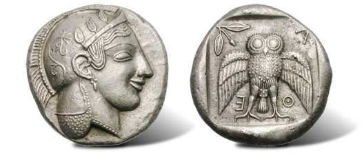Silver-Decadrachm-Ancient-Coin-of-Athens